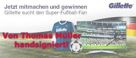 Amazon und Gillette Gewinnspiel zur Fußball Weltmeisterschaft - http://www.onlinemarktplatz.de/50199/amazon-und-gillette-gewinnspiel-zur-fussball-weltmeisterschaft/