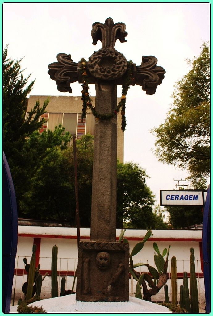 Cruz atrial, Santa Cruz, Atoyac