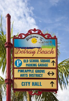 Delray Beach City Skyline (Delray Beach, Florida)