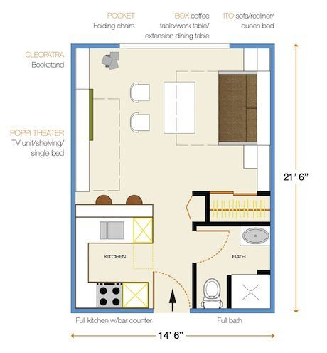 17 best images about muebles transformables on pinterest for 10 square feet room