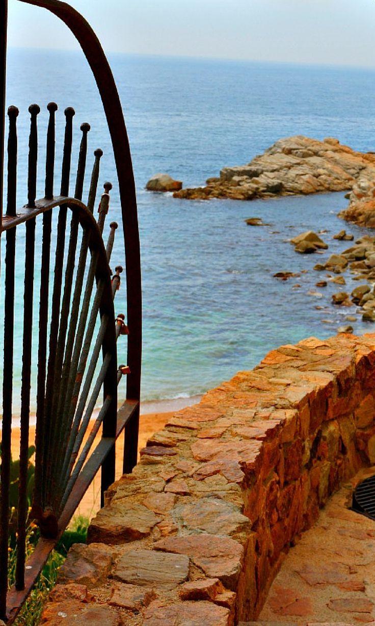 Stunning views in Tossa De Mar, Costa Brava, Spain