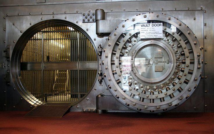 Image result for bank safe