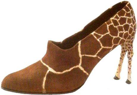 キリンなヒール靴 - WhiteTiger-BLLOGG