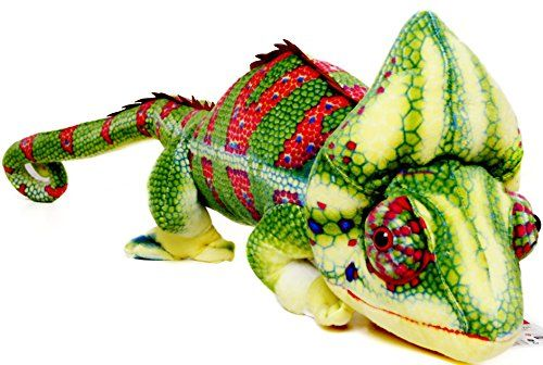 Ahmed the Chameleon  45 Inch Stuffed Animal Plush Long Lizard  TwoDay Guaranteed Shipping from California Available ** Be sure to check out this awesome product.