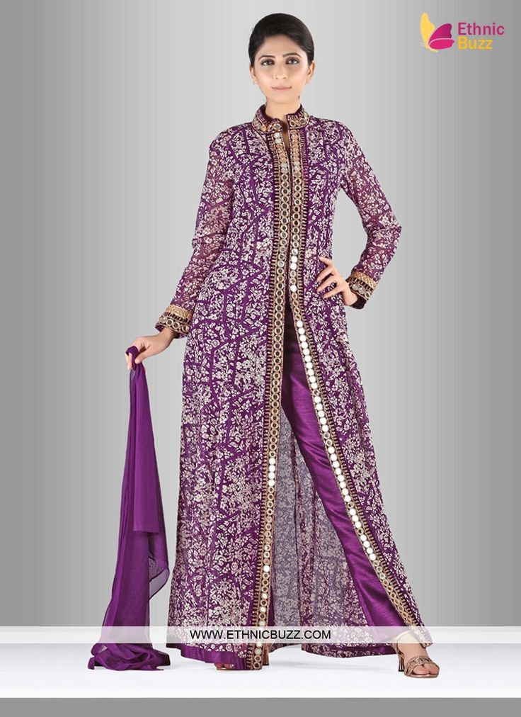 The 15 best Pant Style Salwar Suit images on Pinterest | Pants style ...