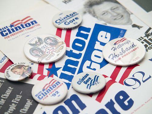 President Bill Clinton campaign 1992