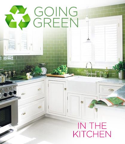 Going Green: How to have an eco-friendly kitchen