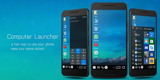 Computer Launcher v7.1 [Ad-Free]   Computer Launcher v7.1 [Ad-Free]Requirements:4.1 and upOverview:Are you looking for the desktop computer style launcher on your Android? Check this computer style launcher available for your Android (TM) smart phones.  Are you looking for the desktop computer style launcher on your Android? Check this computer style launcher available for your Android (TM) smart phones.  Desktop Computer Design: Customize your phone with unique look and feel of the fastest…
