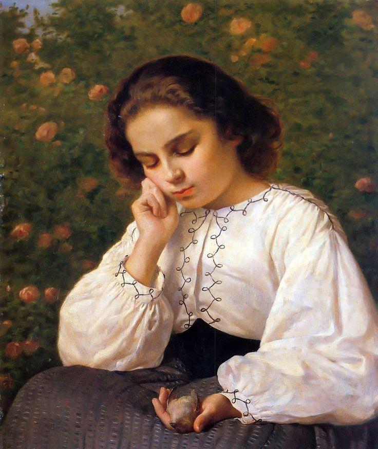 Silvestro Lega - Il primo dolore 1863
