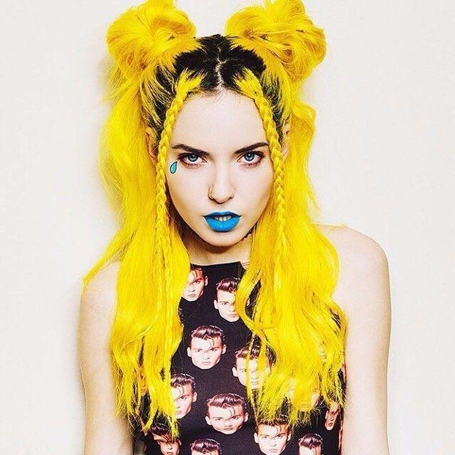 #hairinspo #hairgoals #yellowhair
