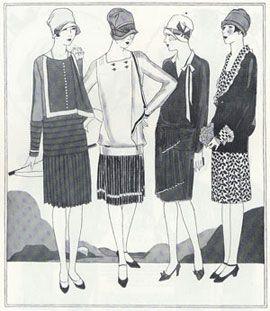Abiti Antichi - Storia della Moda 1923-1930