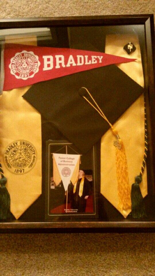 Caja de recuerdos de la Graduación   -   Graduation Shadow Box