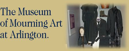 The Museum of Mourning Art at Drexel Hill.  Fascinated that a museum would reach to grapple such an obviously major theme and purpose of art.