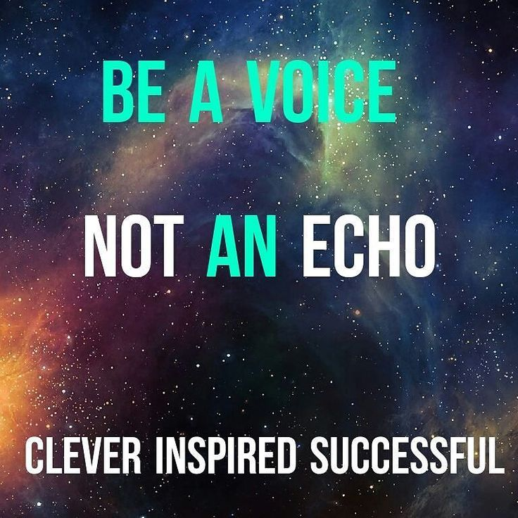 Be a Voice not an echo. . < Have your own opinions. . < Have your own ideas. . < Have your own #faith. . < Be #original ! . < Be yourself! Get updates and special offers on Instagram http://ift.tt/1W9wMhj Twitter http://twitter.com/Clever_Inspire Like and share our official Facebook page http://ift.tt/21xvvjy #moneyonline #comment #comments #commentbellow #cash #makemoney #makemoneyonline #makemoneyfromhome #makemoneyfast #makemoneynow #easymoney #easycash #getpaid #workfromhome #onlinemoney…