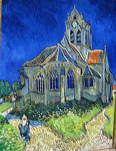 """This is my favorite Van Gogh """"The Church in Arles"""""""