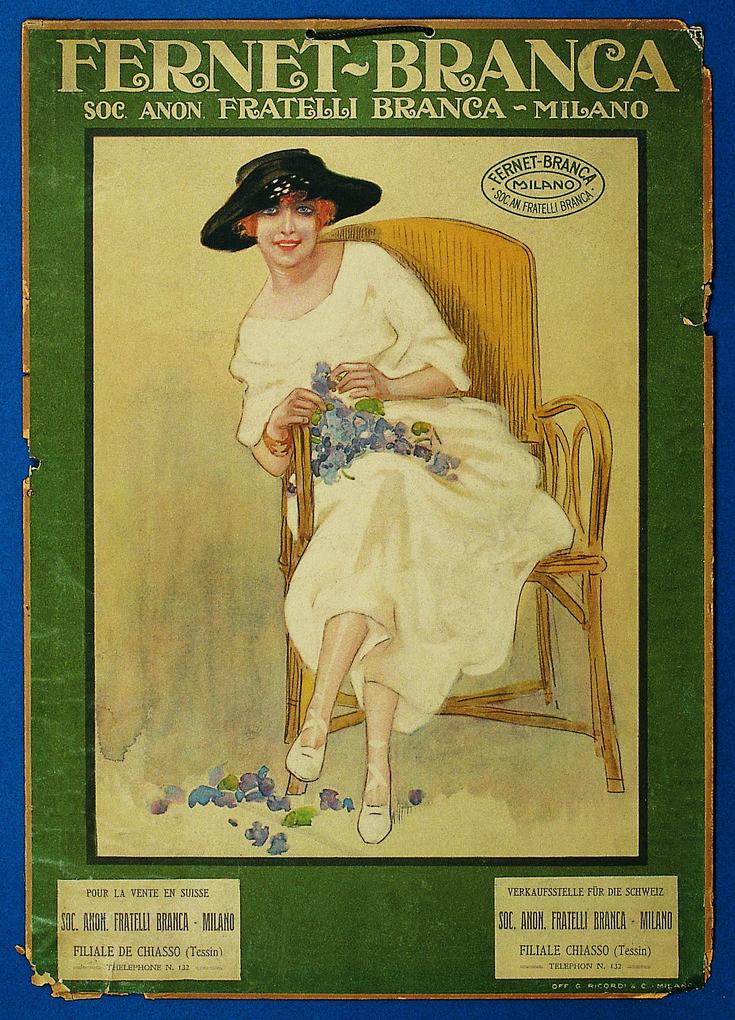 Poster e iconografie - Distillerie F.lli Branca