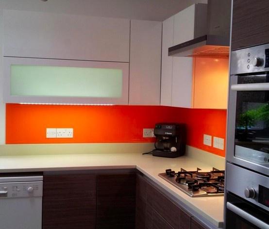 Sunset Orange Acrylic Splashbacks At Http Www Acrylic