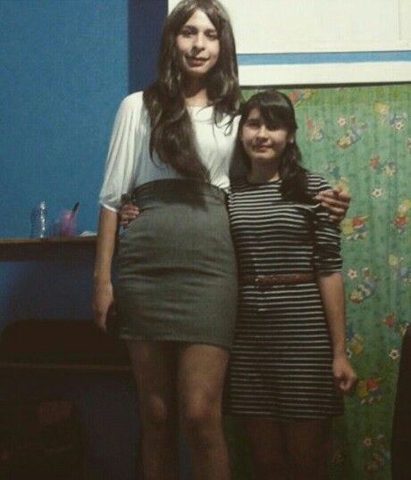Crossdresser and girlfriend