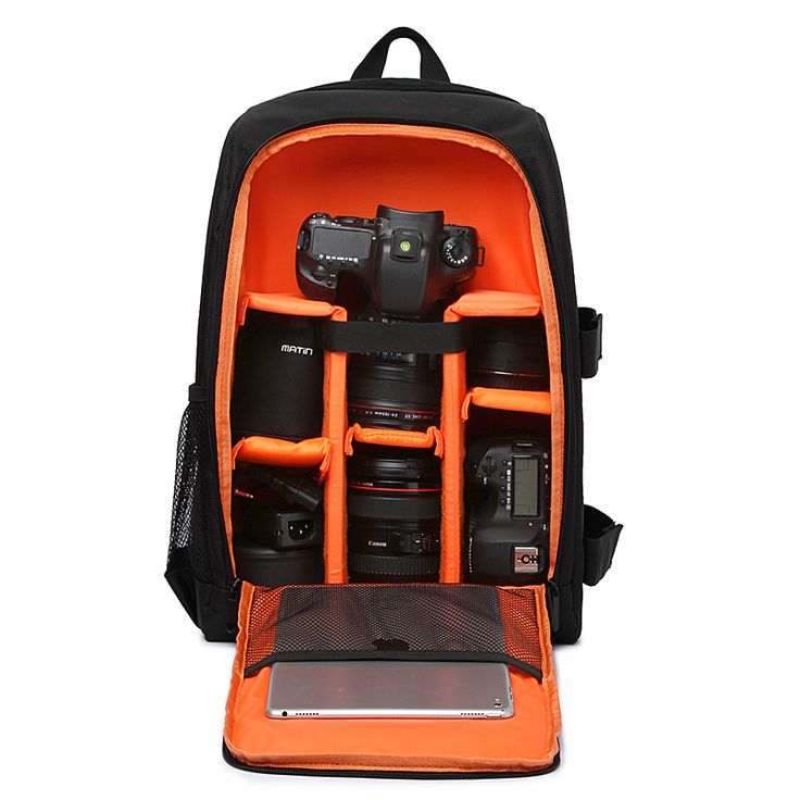 Multi-functional Waterproof Digital DSLR Photo Padded Backpack w/ Rain Cover Camera Soft Bag laptop Video Case for Photographer //Price: $57.40      #followme