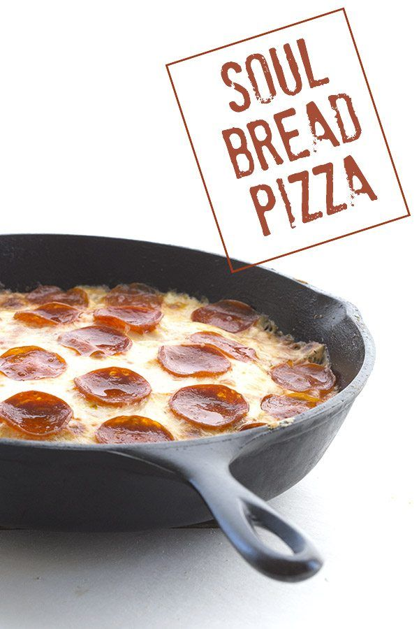 A delicious deep dish low carb pizza with soul! This keto grain-free crust is light and airy and can stand up to whatever toppings you decide to pile on there.