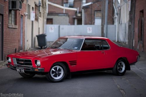 Starring: Holden HQ GTS Monaro