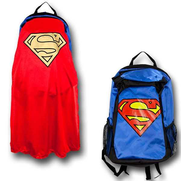 Superman Caped Backpack $44.99