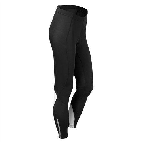 Canari Women's Spiral Gel Tight Bottoms, Black, Small. Flatseam performance stitching. Mt Pro compression fabric, UPF 30+. 12 panel anatomical Contoured design. 7 inch; Gel Pro cycling Pad.