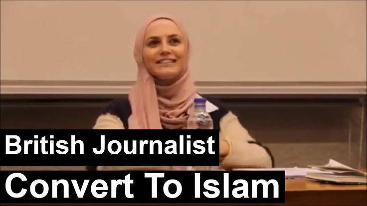 British Journalist Convert to Islam Explaining About Islam & Conversion ...