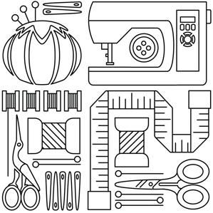 Utiles de costura