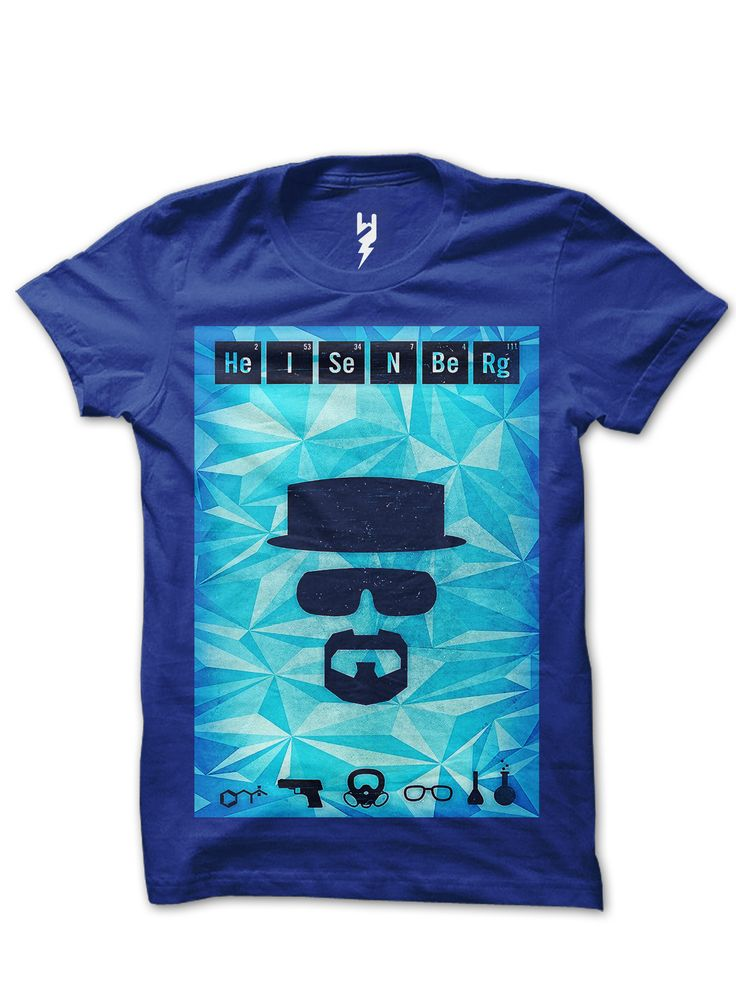 Heisenberg from XTEAS Breaking Bad Series Inspired Tee  Trivia - Walter White's alias, Heisenberg, is a tribute to Werner Heisenberg, who formulated the uncertainty principle, which states that it is impossible to determine simultaneously both the position and velocity of an electron or any other particle with any great degree of accuracy or certainty.