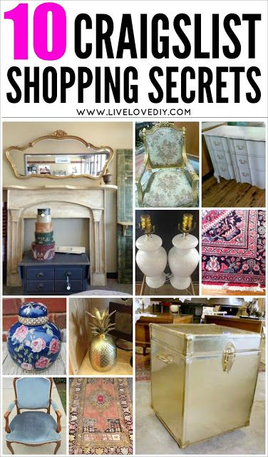 10 Secrets for Buying The BEST Furniture on Craigslist!