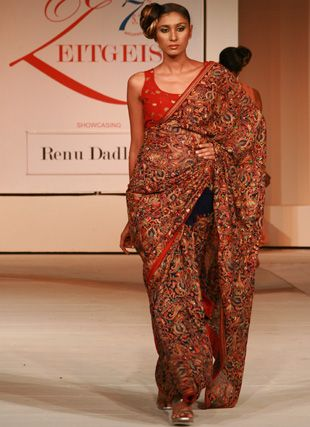 Renu Dadlani's Parsi Gara Collection depicts a #delicate and enchanting story of #handembroidered finery. For more info: http://renudadlani.com/collection-parsi-gara.html