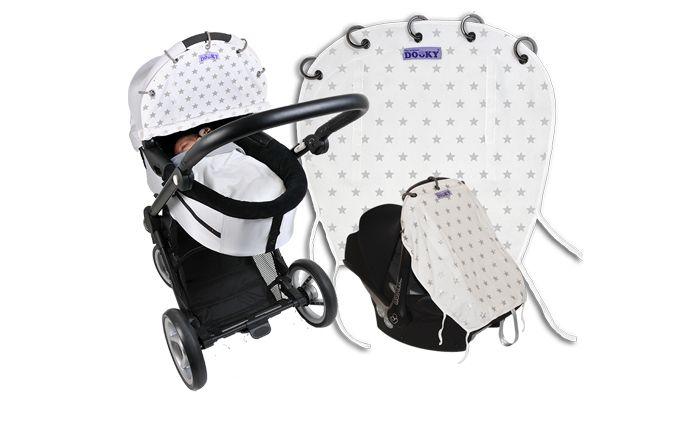 Dooky is de ideale manier om je kindje te beschermen tegen zon, wind, regen, sneeuw en licht. De Dooky is universeel en eenvoudig binnen enkele seconden ...