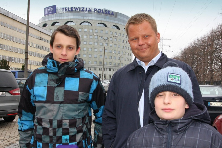 Jarek Wierczuk, Michał Grzyb and Jaś Antoszewski