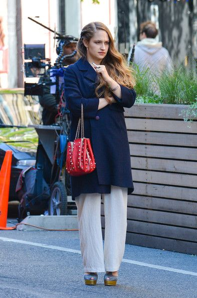 Jemima Kirke - Scenes From the 'Girls' Set in NYC — Part 3