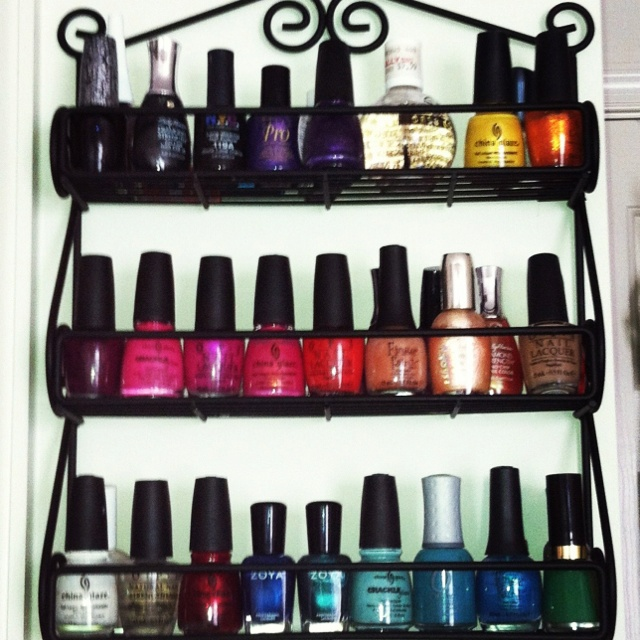 Marvelous Nail Polish Storage Issues? Get A Spice Rack. Works Perfectly.