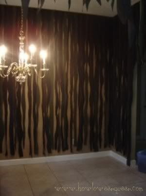 Camouflage Halloween curtains how to