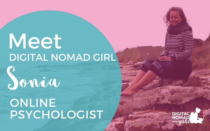 Meet Digital Nomad Girl Sonia: Online Psychologist