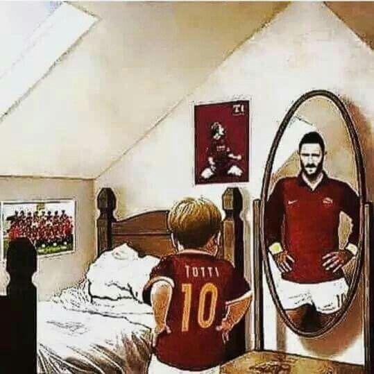 Totti inspired