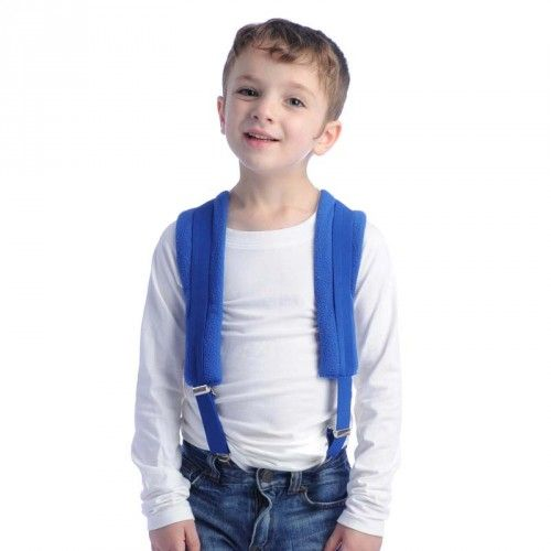 Kids Weighted Suspenders™ | Special Needs Clothing for Children | Deep Pressure Clothing & Accessories | Weighted Therapy Vest