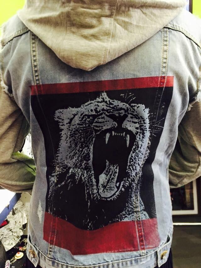 Denim jacket made by Acid Drop
