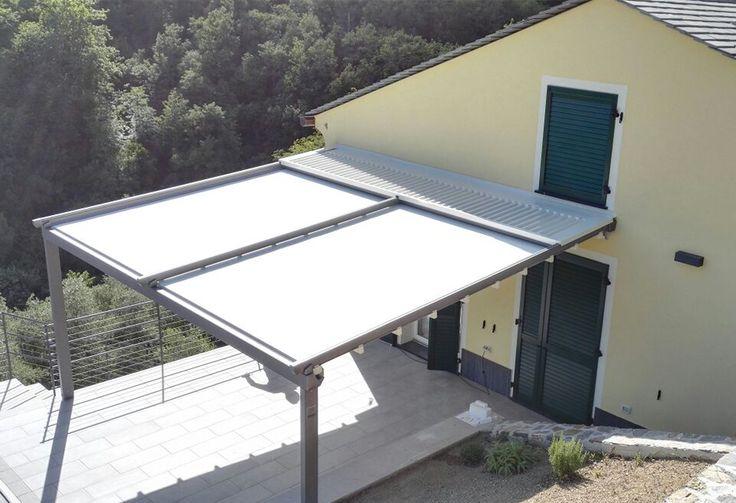 Pergola #Arquati FLAG 90 - Liguria #design #outdoor #architecture