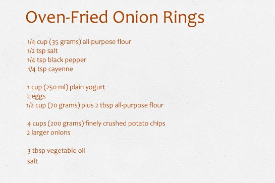 oven-fried-onion-rings-ingredients: Baked Onion Rings, Yum Rings ...