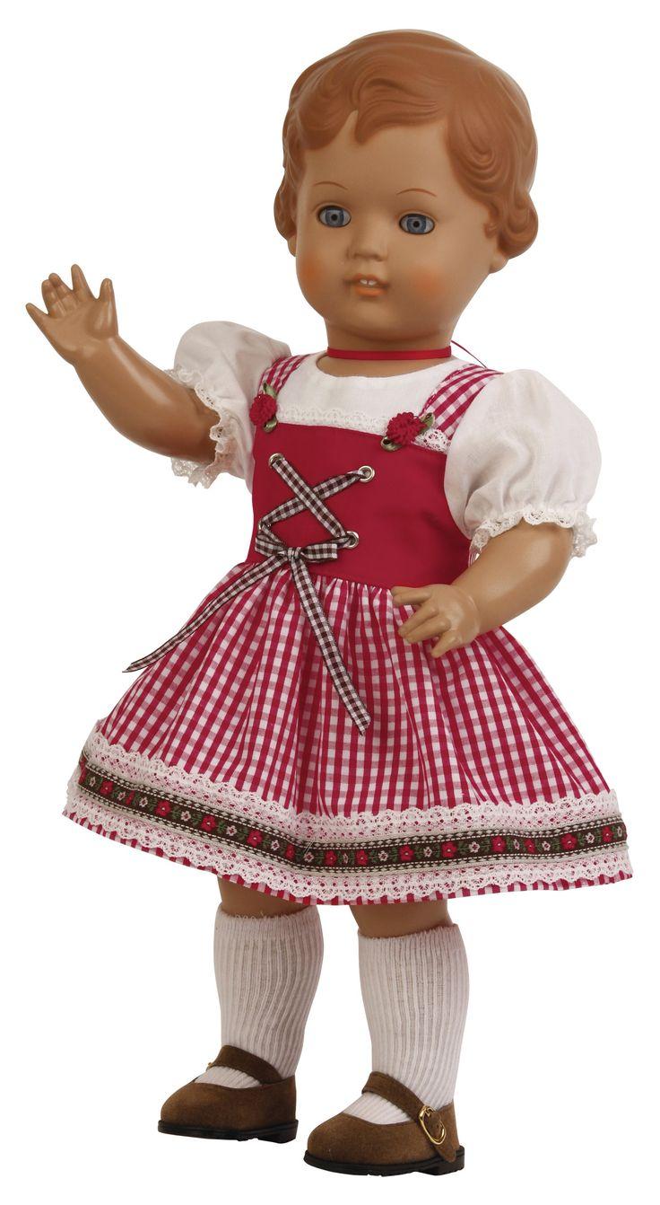 "Erika braune Haare ""Made in Germany"" | Klassikpuppen | Onlineshop | Schildkröt"