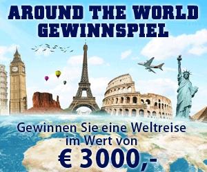 """""""Around the World"""" einmal um die ganze Welt, super #Reise #gewinnen 2013. Brasilen - USA - England - Italien - Südafrika - Australien - China"""