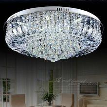 Современные K9 хрустальные люстры потолочные люстры de cristal luminaras para sala дома деко светильник для гостиной