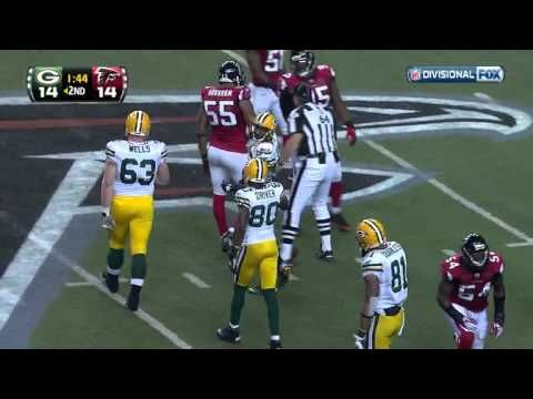 NFL 2010 Divisional Playoffs NFC Game1 Packers at Falcons. #playoffs #nfl #packers #domination #eventualsuperbowlchamps