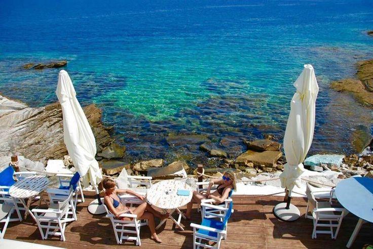 Karnagio Beach-bar, Thassos Town (Limenas) - Restaurant Reviews, Phone Number & Photos - TripAdvisor
