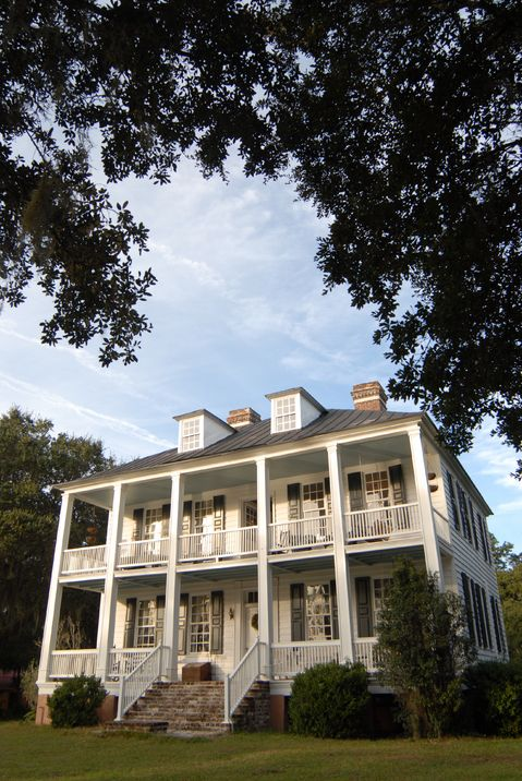 Hopsewee, built circa 1735 in Georgetown County, SC