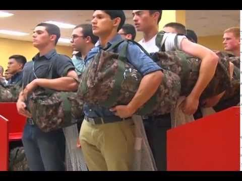 Marines Boot Camp - Meet the Drill Instructors (Part 1) - YouTube